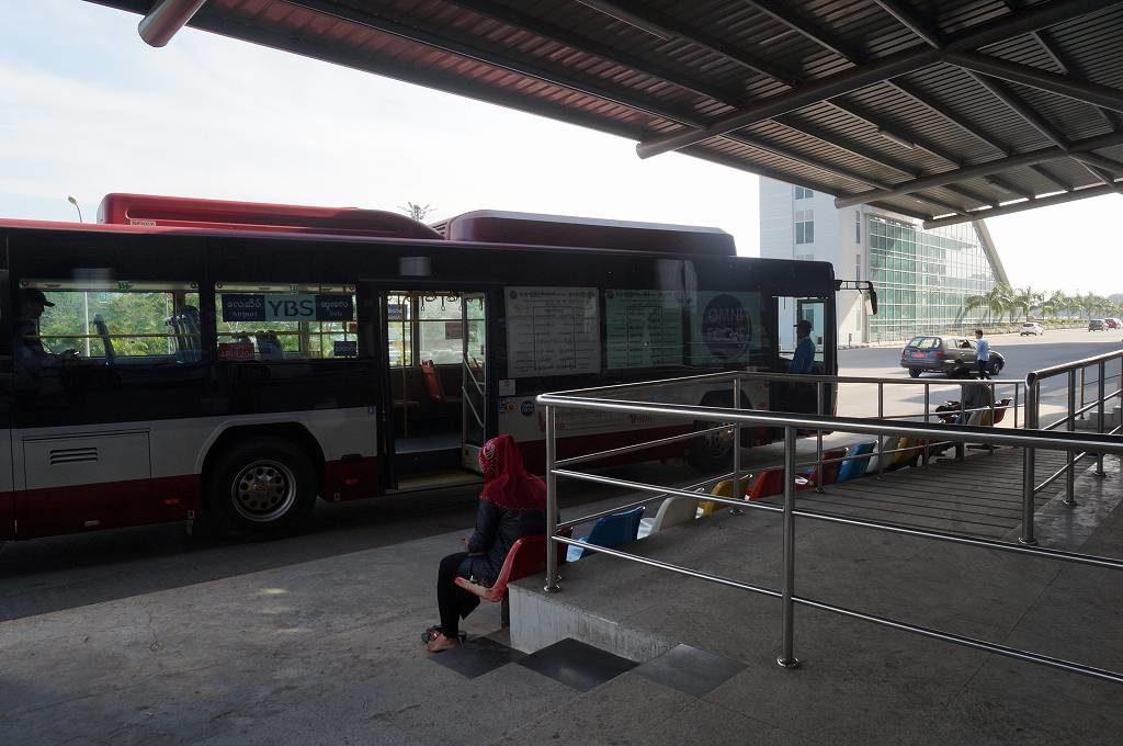 ヤンゴン空港から市内への行き方!空港バスがおすすめです!