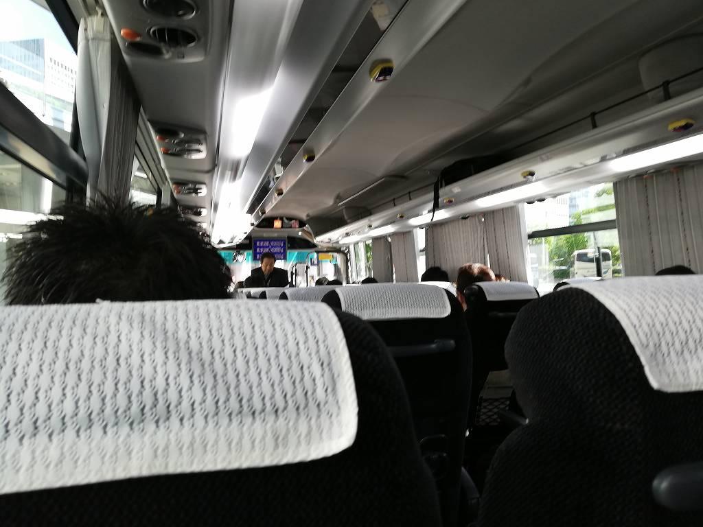 アクセス成田車内