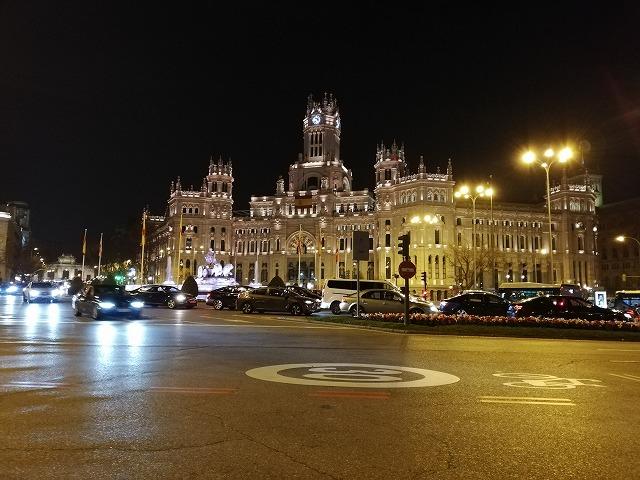 【スペインポルトガル旅】マドリード到着、NFCと夜景の美しさに感動する
